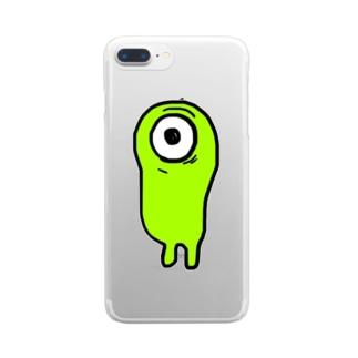 こんどろいちん Clear smartphone cases