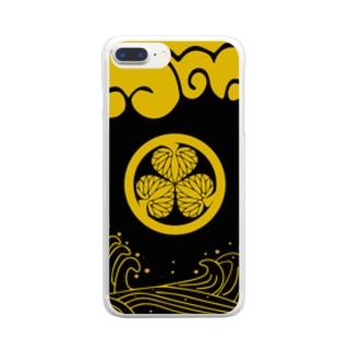 コーモン様 Clear smartphone cases