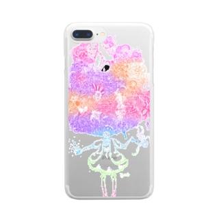 おんなのこ! Clear smartphone cases
