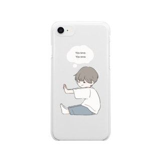 よいしょ Clear smartphone cases