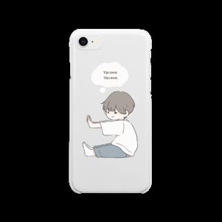 百瀬たろうのよいしょ Clear smartphone cases