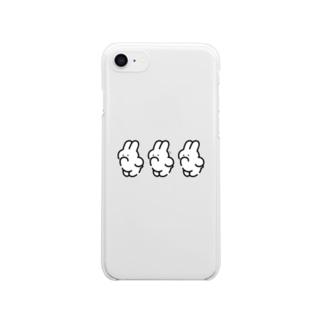 3(IWA) Clear smartphone cases