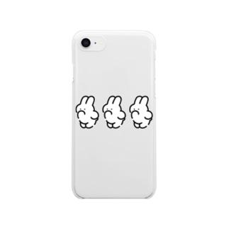 3(IWA) クリアスマートフォンケース