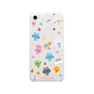 LAMUNE KUN DOT. Clear smartphone cases