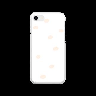 ミーゴレンちゃんのもち人間スケルトン Clear smartphone cases
