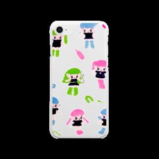モニョチタポミチの持ってない Clear smartphone cases