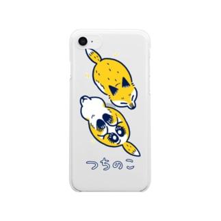 つちの狐2 クリアスマートフォンケース