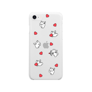 nsnの♡ Clear smartphone cases