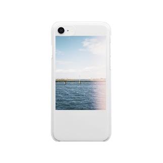 境界線 Clear smartphone cases
