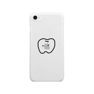 並び悪い歯 Clear smartphone cases