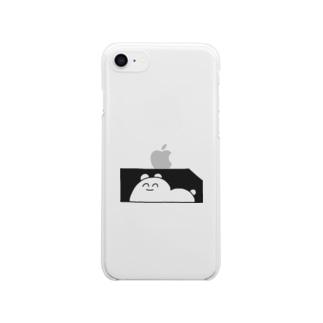 のぞく Clear smartphone cases