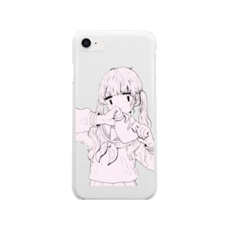 失恋 Clear smartphone cases