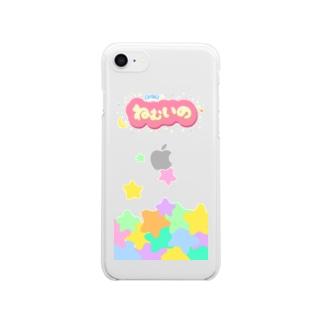 まいにちねむいの Clear smartphone cases