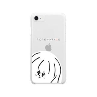 TOTEKAFIVE Clear smartphone cases