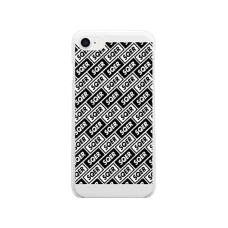 SQER IPHONE Clear smartphone cases