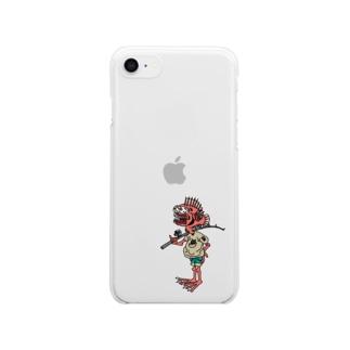 イワウオ博士 Clear smartphone cases