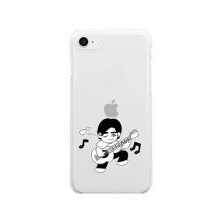 少年K Clear smartphone cases
