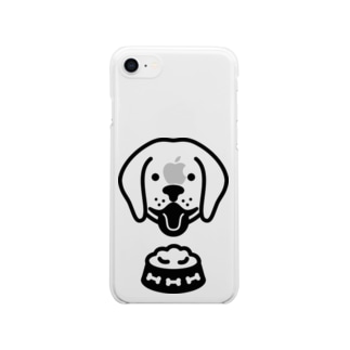 Dog food Clear smartphone cases