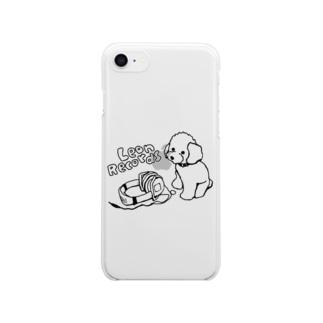 Leon Records Clear smartphone cases