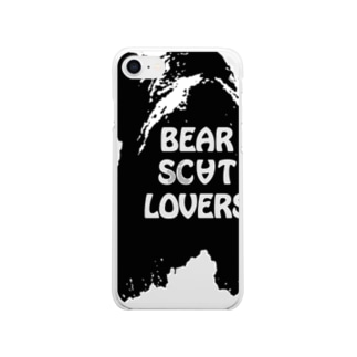 """""""Linda"""" for Bear Scat Lovers Clear smartphone cases"""