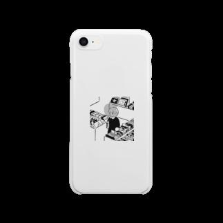 ささきわたのレコード店 Clear smartphone cases