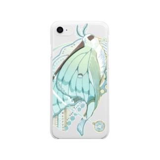 白昼夢 Clear smartphone cases