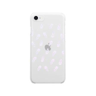 ちほうとしの女の子だけ(濃い) Clear smartphone cases