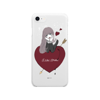 仔羊 めえのlove you. Clear smartphone cases