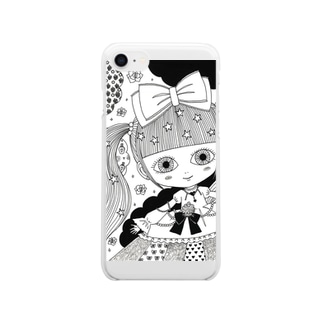 kawaii Clear smartphone cases