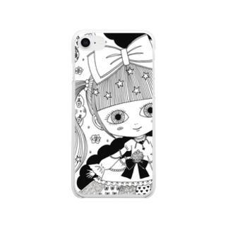 kawaii クリアスマートフォンケース