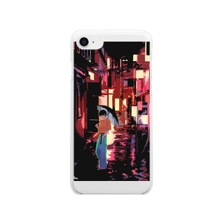 rain Clear smartphone cases
