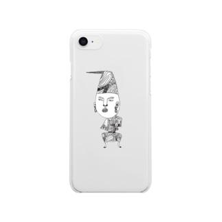 タキコミ・ゴ・ハーン Clear smartphone cases