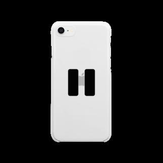 くじら〜たの一時停止 Clear smartphone cases