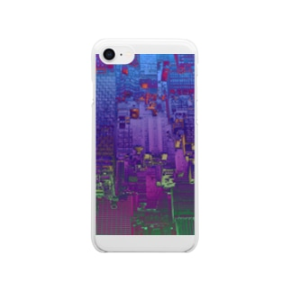CYBERPUNKCITY Clear smartphone cases