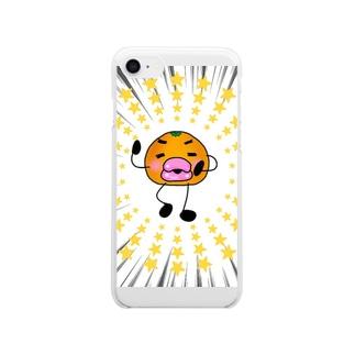 俺ンじ。グッズ Clear smartphone cases