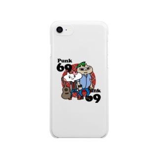 neko★69 (Punk69)  Clear smartphone cases
