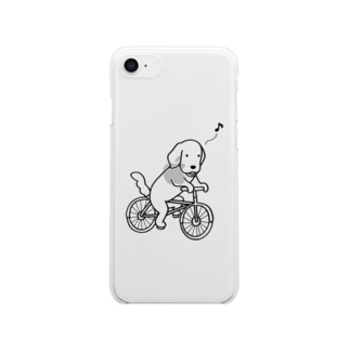 bicycle Clear smartphone cases