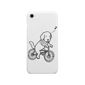 bicycle クリアスマートフォンケース