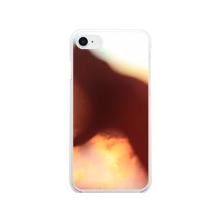 ミラーボール Clear smartphone cases