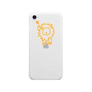 ひゃくじゅうの王 Clear smartphone cases