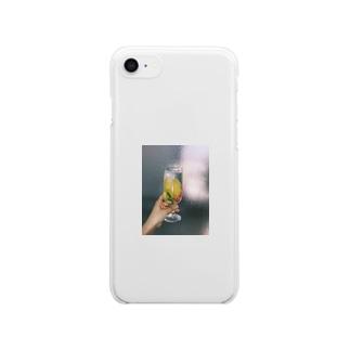 夏の記憶 Clear smartphone cases