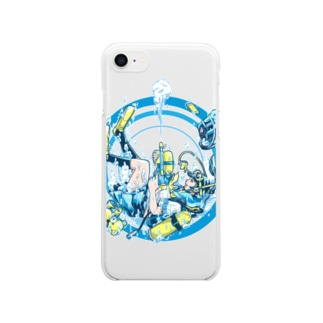 Dive Shot ! Clear smartphone cases