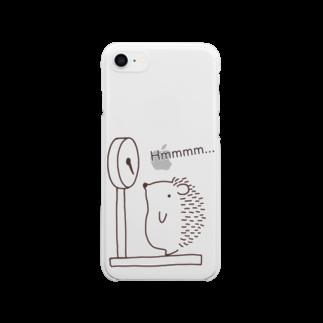 和田ありすの不思議なおみせのハリネズミの体重測定 Clear smartphone cases