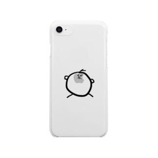 とまと坊や Clear smartphone cases