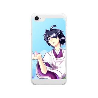 羽城 恋 ~ 故郷を想って ~ Clear smartphone cases