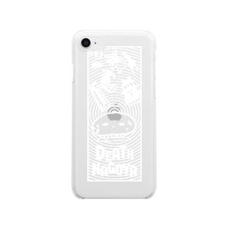 デスナゴヤくらげ(ヌキ)  Clear smartphone cases