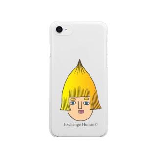 とんがりコビート Clear smartphone cases
