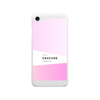 グラデーション #04 Clear smartphone cases