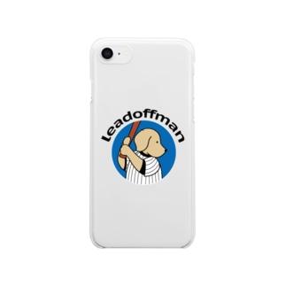 リードオフマン 2 Clear smartphone cases