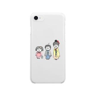 七五三 Clear smartphone cases